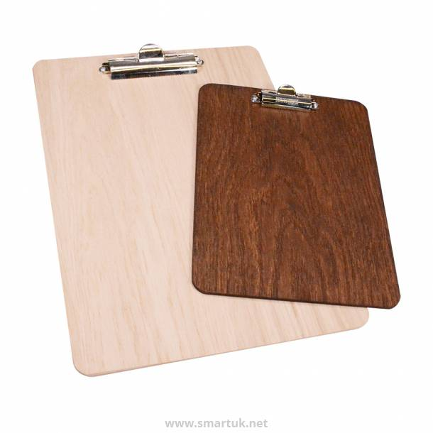 Real Wood Menu Boards - Wooden Clip Boards