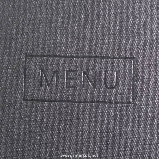 Fastrack Buckray Cloth Menus Smart Hospitality Supplies