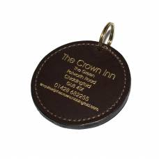 Saddle Hide Leather Hotel Key Fob