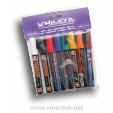 Chalk Markers Interior - Coloured