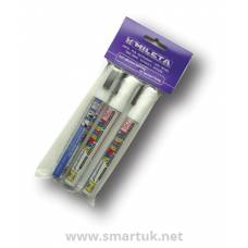 Chalk Markers Exterior - White