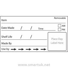 Shelf Life Food Labels