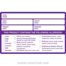 Preparation and Allergen Food Labels