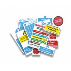 Health and Safety Signs Pack - Kitchen Sign Essentials