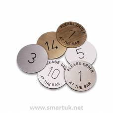 Restaurant Table Numbers Table Signs Smart Hospitality Supplies - Restaurant table signs