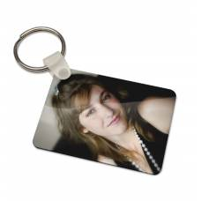 Full Colour Printed Key Tag - Rectangle