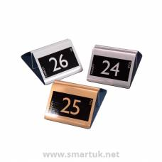 Numbered Metal - Menu Holders