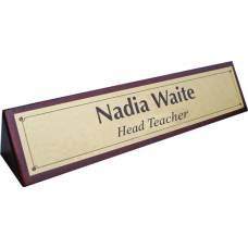 Wooden Name Table Signs