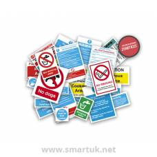 Health and Safety Signs Pack - Butchers Safety