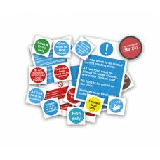 Health and Safety Signs Pack - Food Storage