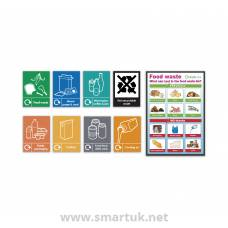 Health and Safety Signs Pack - Food Waste Recycling