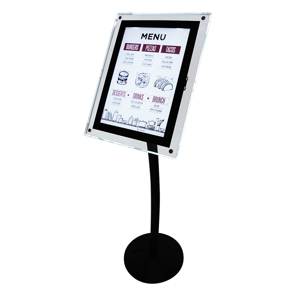 Illuminated Menu Stand Smart Hospitality Supplies