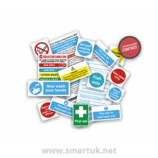 Health and Safety Signs Pack - Senior Catering Starter Pack