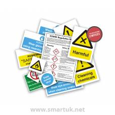 Health and Safety Signs Pack - Chemical Use and Storage