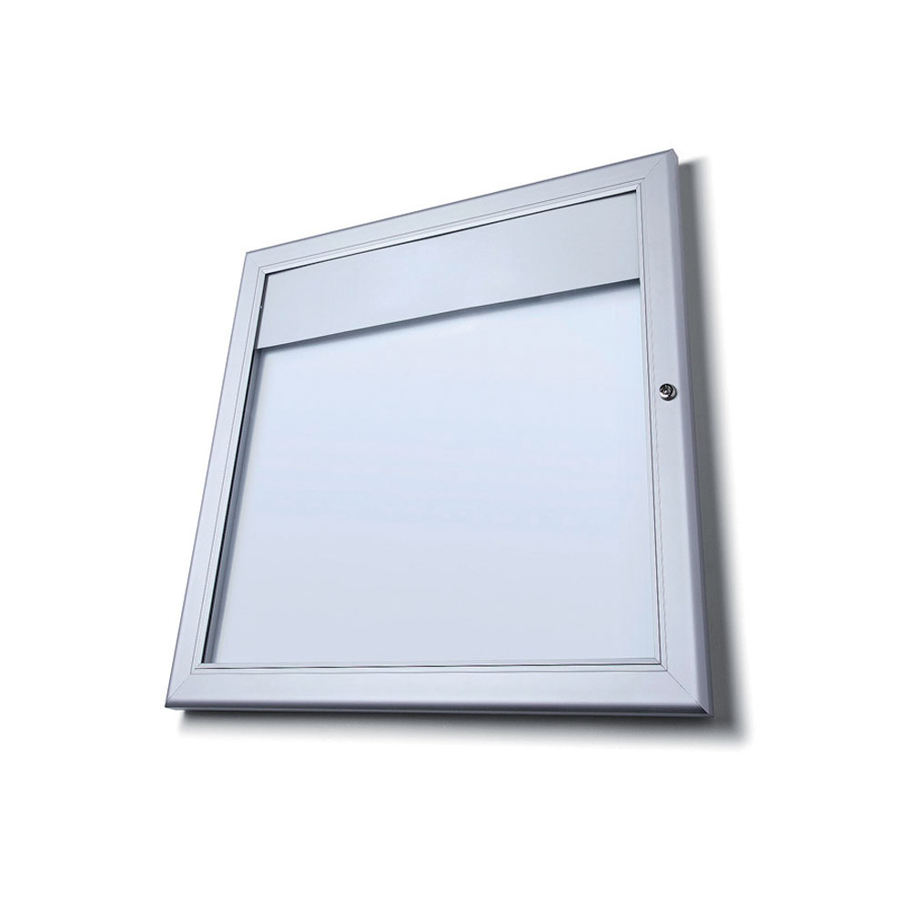 Wall mounted outdoor menu display case smart hospitality supplies for Exterior display case