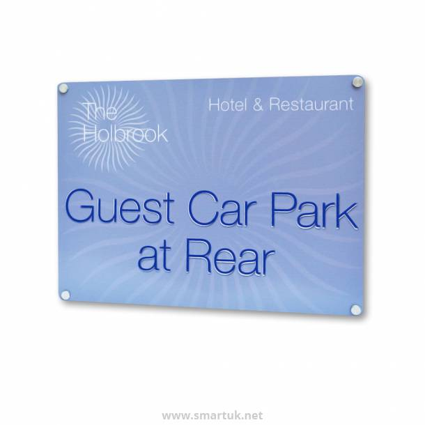 Wall Mounted Sign Board
