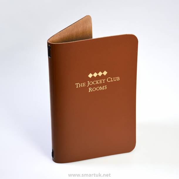 Saddle Hide Menu Covers