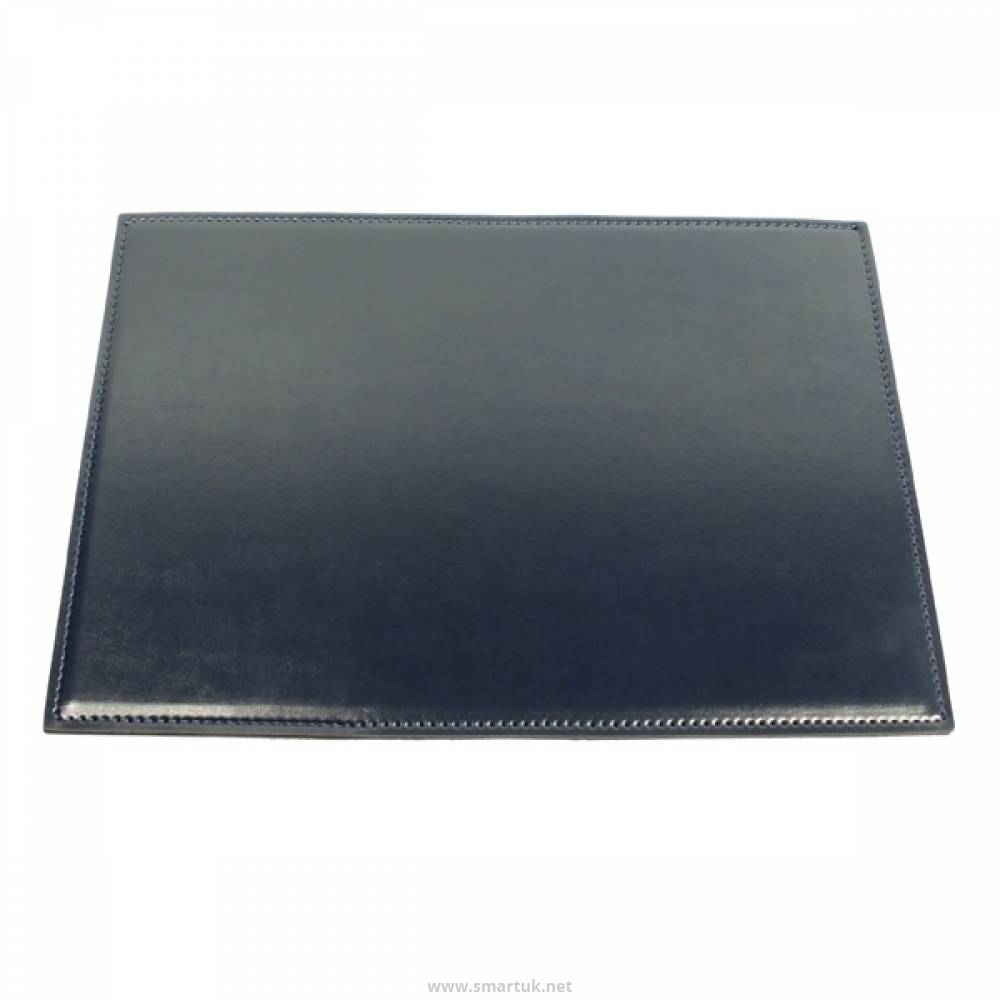 Stitched Hide Leather Desk Mat Smart Hospitality Supplies