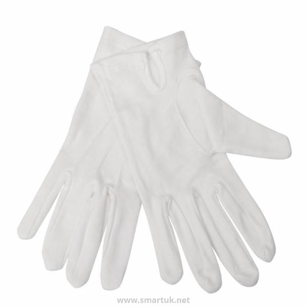 Mens Waiting Gloves White L