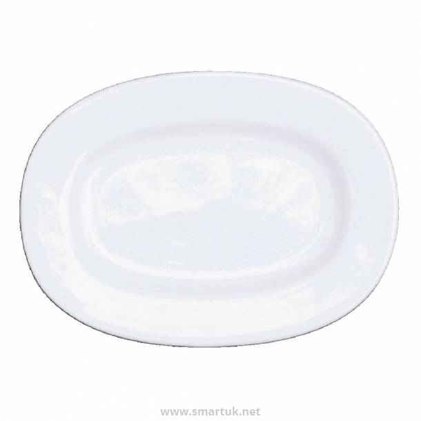 Churchill Alchemy Rimmed Oval Dishes 202mm
