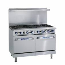 Imperial 8 Burner Double Oven Propane Gas Oven Range IR8-P
