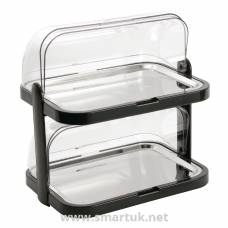 Double Decker Roll Top Cool Display Trays