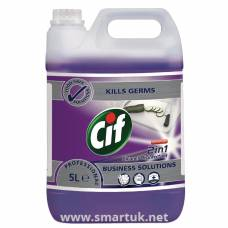 CIF Professional 2in1 Disinfectant 5 Litre (Pack of 2)