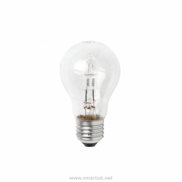 Status Halogen Energy Saving GLS Bulb Edison Screw 42W