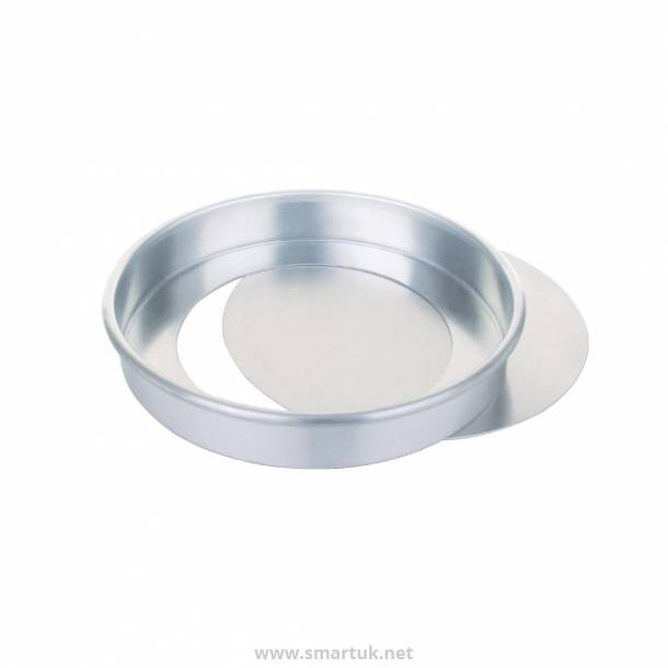 Aluminium Sandwich Tin With Removable Base 20cm