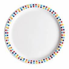Carlisle Spanish Tile Dinner Plates 230mm