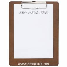 Wooden Menu Presentation Clipboard A5