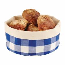 APS Bread Basket Round Small Blue