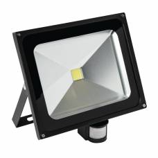 Status Genoa LED Floodlight with PIR Motion Detector 50W