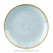 Churchill Stonecast Round Coupe Plate Duck Egg Blue 260mm