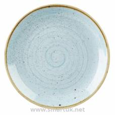 Churchill Stonecast Round Coupe Plate Duck Egg Blue 200mm