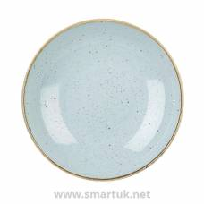 Churchill Stonecast Round Coupe Bowl Duck Egg Blue 220mm