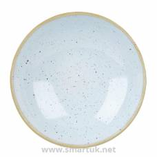 Churchill Stonecast Round Coupe Bowl Duck Egg Blue 200mm