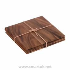 Square Acacia Table Mat