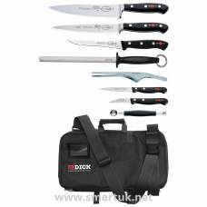 Dick 8 Piece Knife Set With Case
