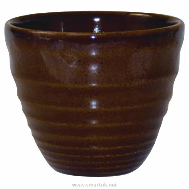 Churchill Bit on the Side Brown Ripple Chip Mugs 284ml