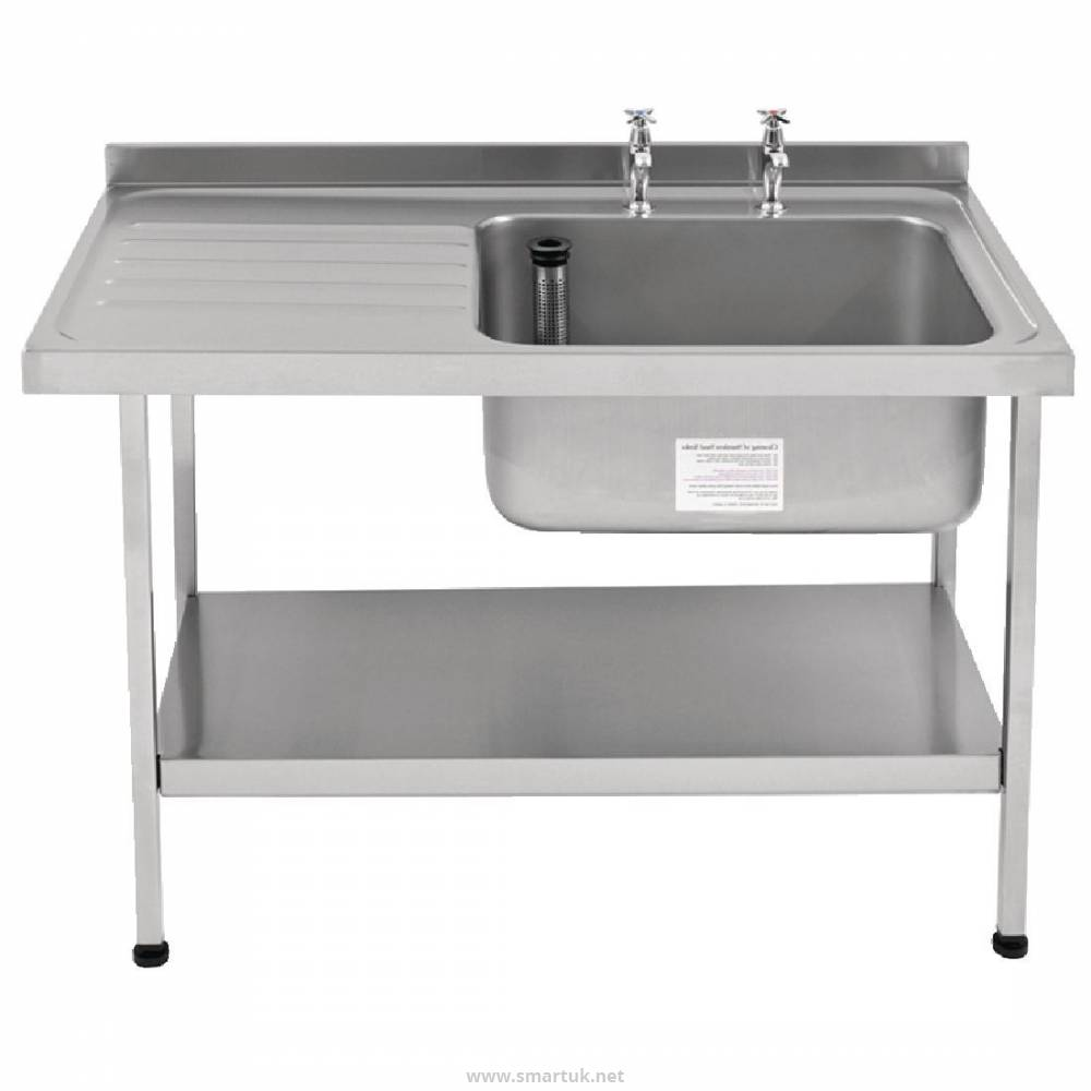 0c0050610d Franke Sissons Stainless Steel Sink Left Hand Drainer 1500x650mm by  Franke-DN619 - Smart Hospitality Supplies