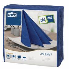 Tork Linstyle Dinner Napkin Midnight Blue 400mm