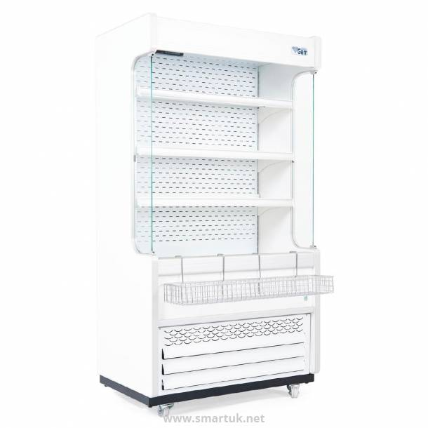 Williams Gem 1510mm Slimline Multideck White with Nightblind R150-WCN