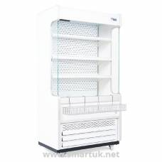 Williams Gem 1856mm Slimline Multideck White with Nightblind R180-WCN