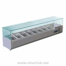 Polar Refrigerated Countertop Servery Prep Unit  8x 1/4GN