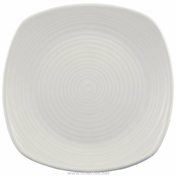 Dudson Evolution Pearl Chefs Plates Square 260mm