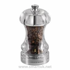 Cole & Mason Acrylic Pepper Mill Capstan 4.5in