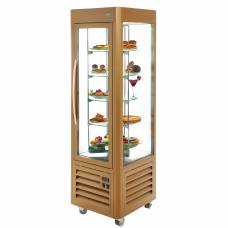 Roller Grill Revolving Display Fridge Gold 360 Ltr