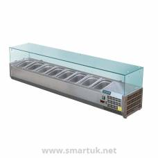 Polar Refrigerated Servery Topper 8x 1/3GN
