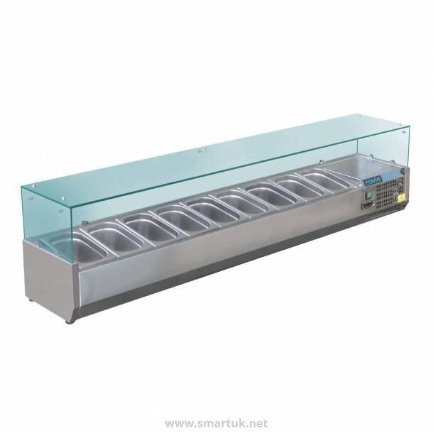 Polar Refrigerated Servery Topper 9x 1/3GN
